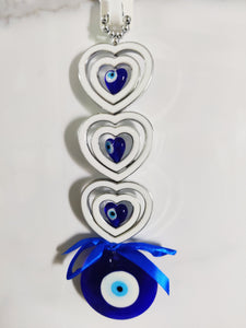 Heart With Evil Eye Protection