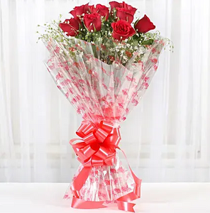 Exotic Roses Bunch - Send Flowers Online