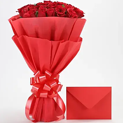 Red Rose Delight - Send Flowers Online