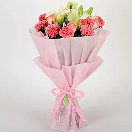 Beautiful Pink Bouquet - Send Flowers Online