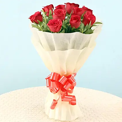Elegant Roses Bouquet - Send Flowers Online