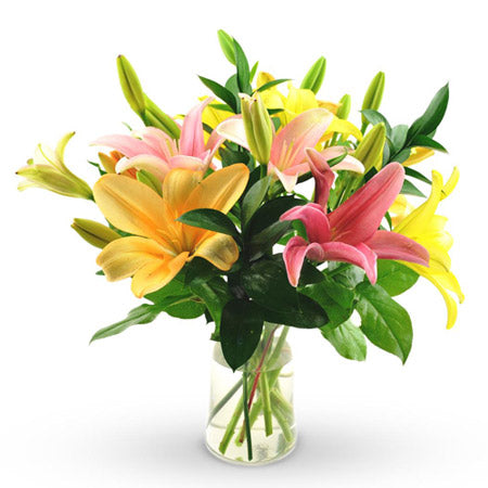 The Vibrant Lilies - Online Flowers Delivery In Mumbai