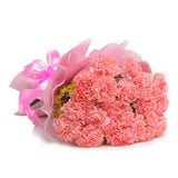 15 Pink Carnations - online flower delivery in Hyderabad