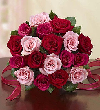Pink and Red Magic - Send Flowers Online