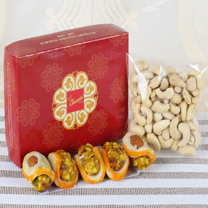 SWEETS WITH CASHEW NUTS