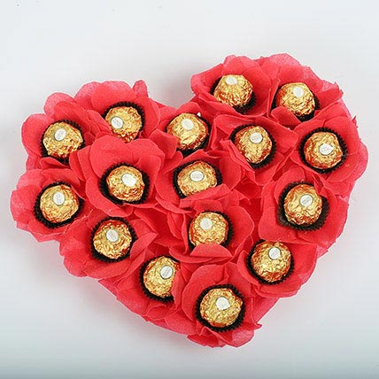 Love Heart Chocs