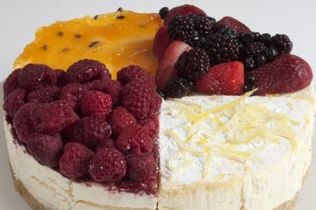 Fruit Choice Cheesecake