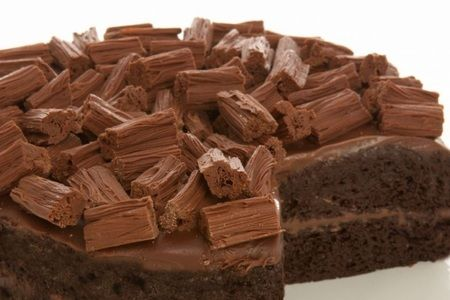 Flaky Chocolate Cake