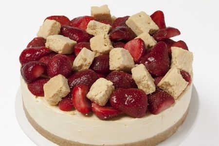 Berry Bread Cheesecake