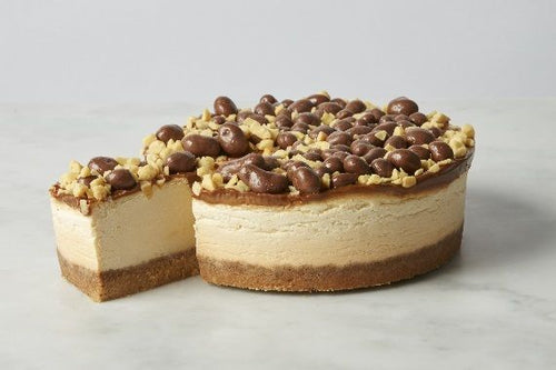 Honeycomb Baked Cheesecake