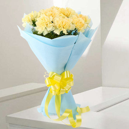 Radiant Carnations - Send Flowers Online