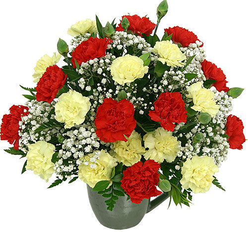 Red & Yellow Minis - Send Flowers Online