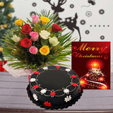 X MAS Roses Choco Celebration