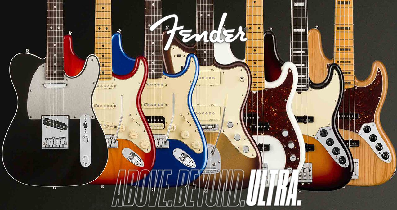 Fender Releases New American Ultra Series
