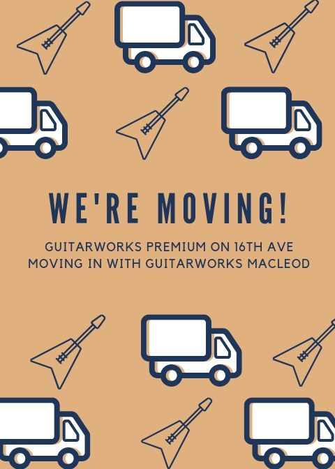 Guitarworks Premium Moving Sale