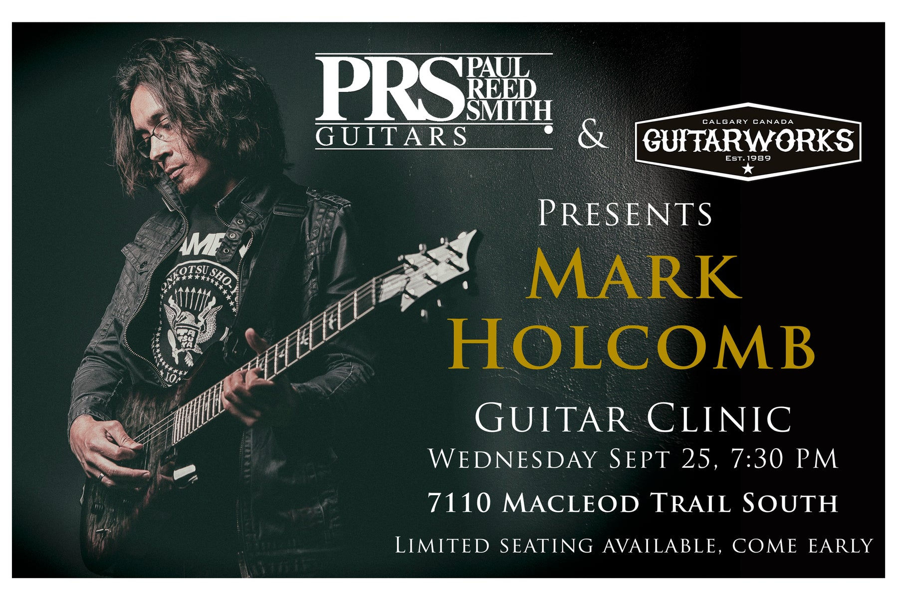 Free Live PRS Clinic with Mark Holcomb of Periphery