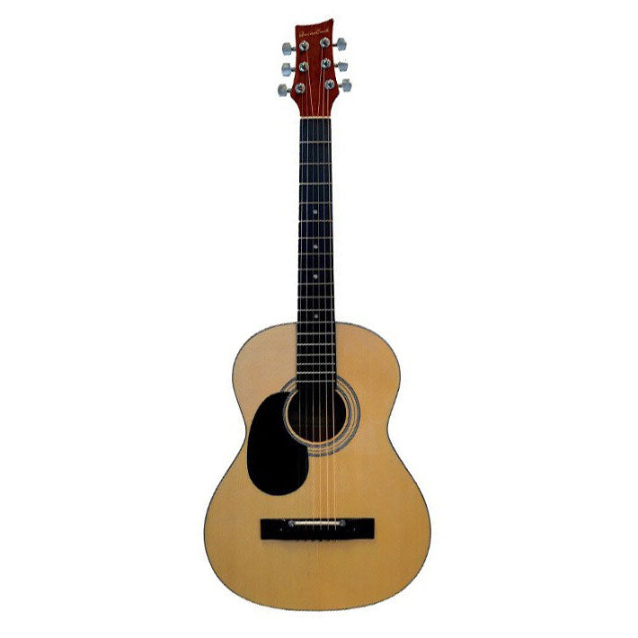 Beaver Creek 601 Series Acoustic Guitar 3/4 Size Natural Left Handed w/Bag BCTD601L