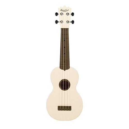 Beaver Creek Ulina Ukulele White w/Bag BCABS-WH