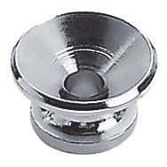 Profile Strap Button with Screw Chrome 2090C