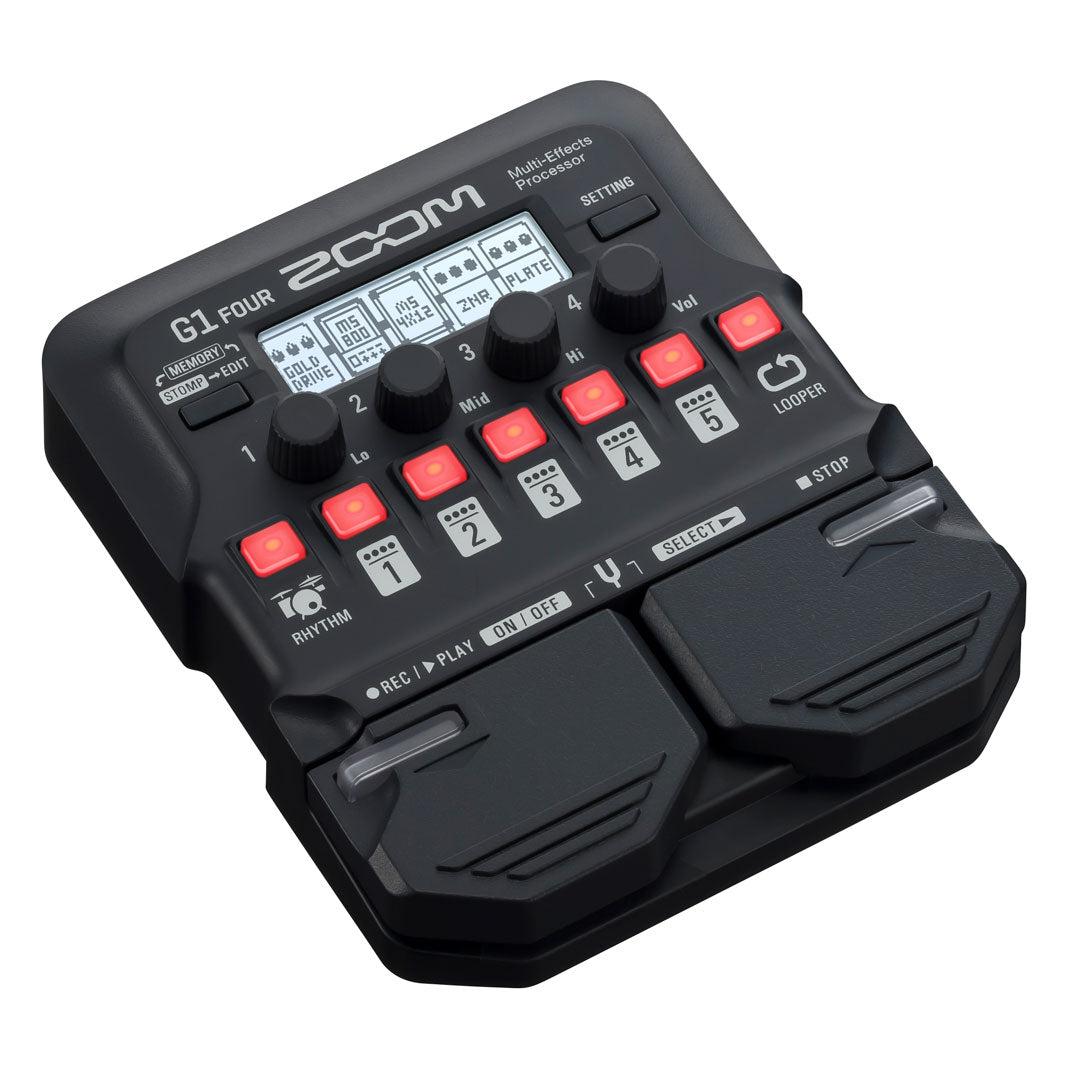 Zoom G1FOUR Multi Effects Processor
