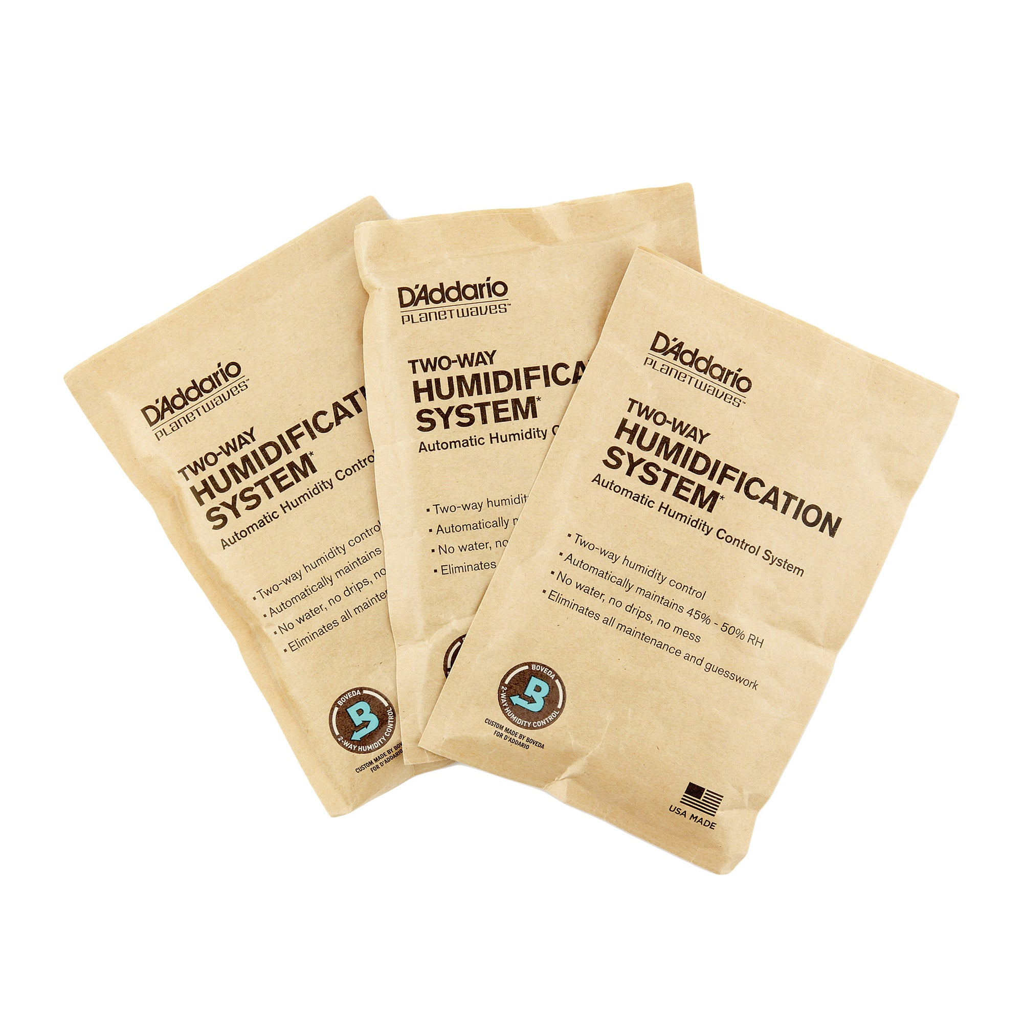 D'Addario Two-Way Humidification System Replacement Packets
