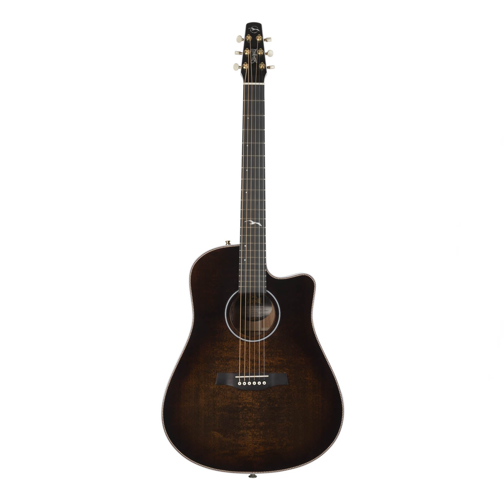 Seagull Artist Peppino Signature CW Bourbon Burst