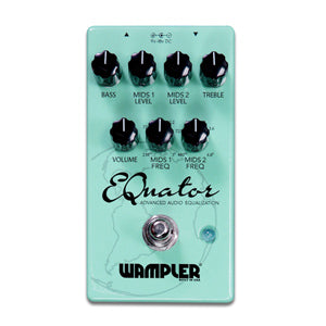 Wampler Equator Advanced Audio Equalizer Pedal