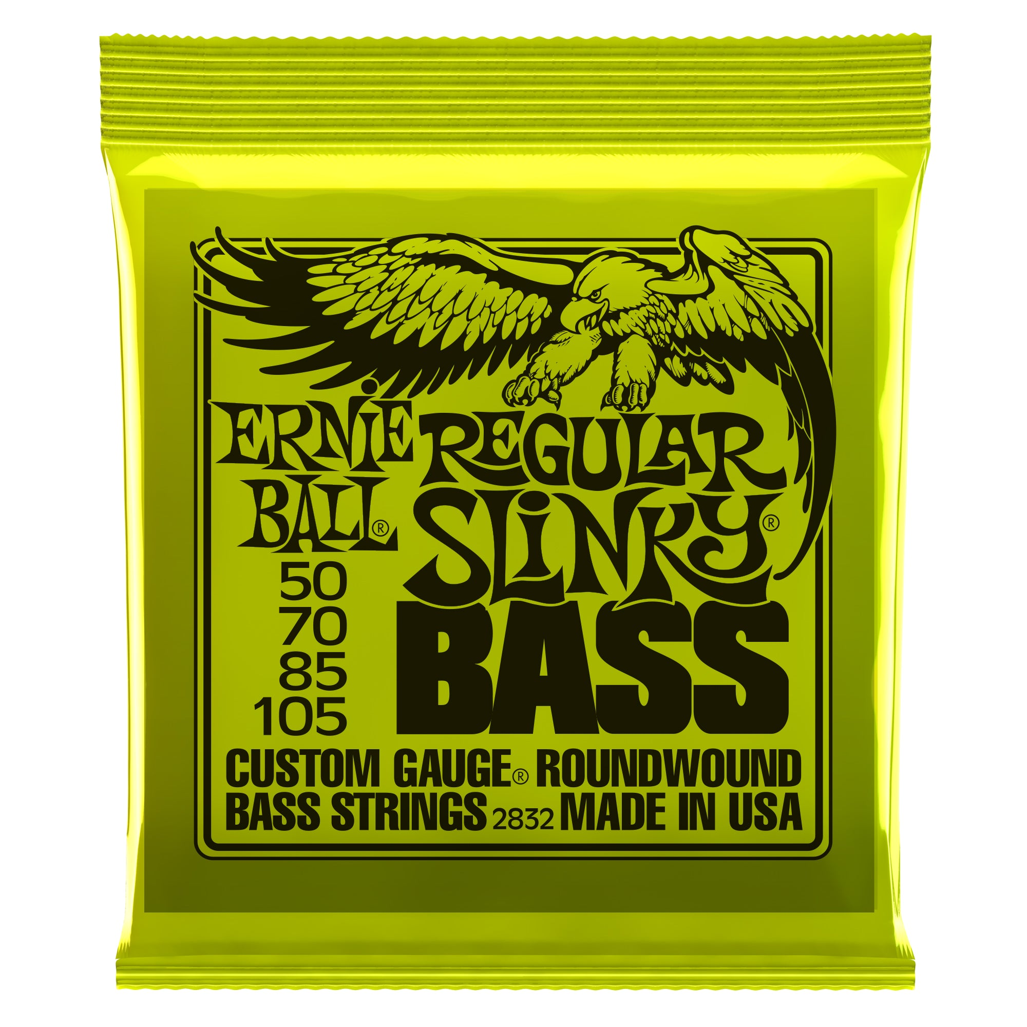 Ernie Ball Regular Slinky Nickel Wound Bass Strings