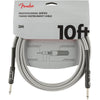 Fender Pro 10' Inst Cable White Tweed