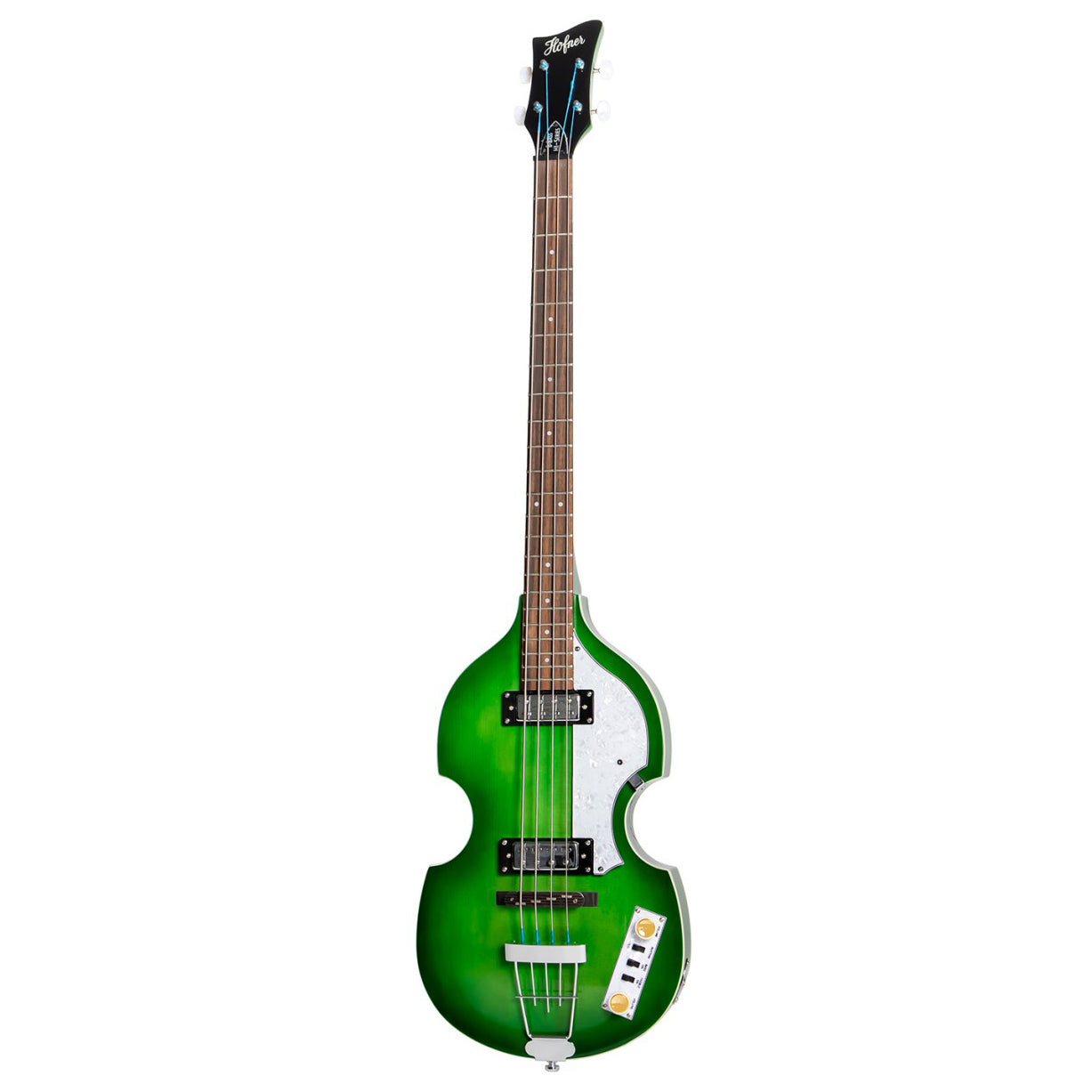 Hofner Ignition Pro Violin Bass Green HOF-HI-BB-PE-GR