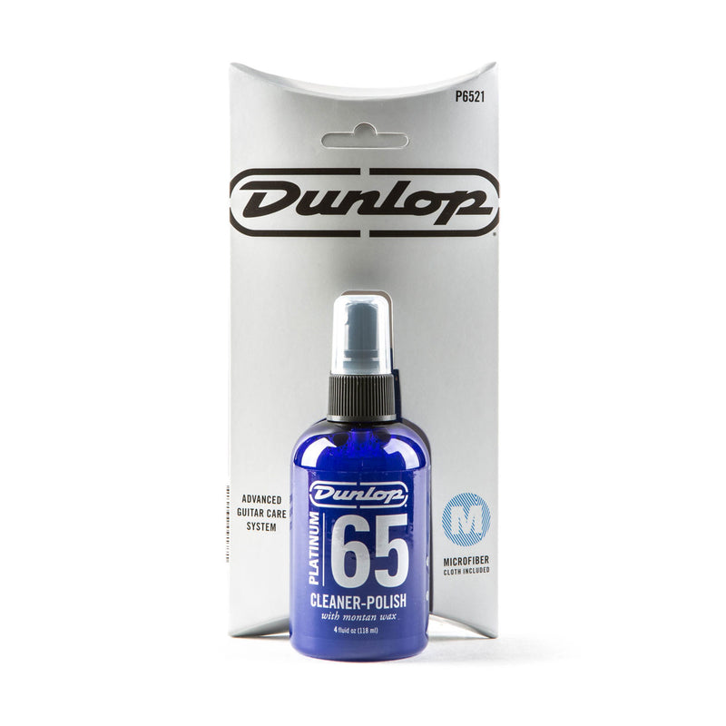 Dunlop Platinum 65 Cleaner Polish & Cloth P6521