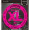 D'Addario ECB81-5 Chromes Bass 5-String Light 45-132 Long Scale
