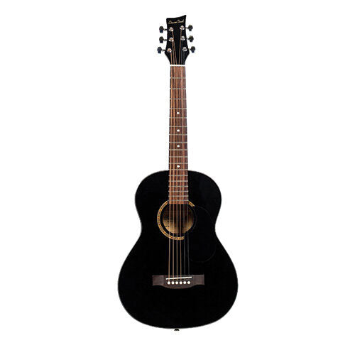 Beaver Creek 601 Series Acoustic Guitar 3/4 Size Black w/Bag BCTD601BK