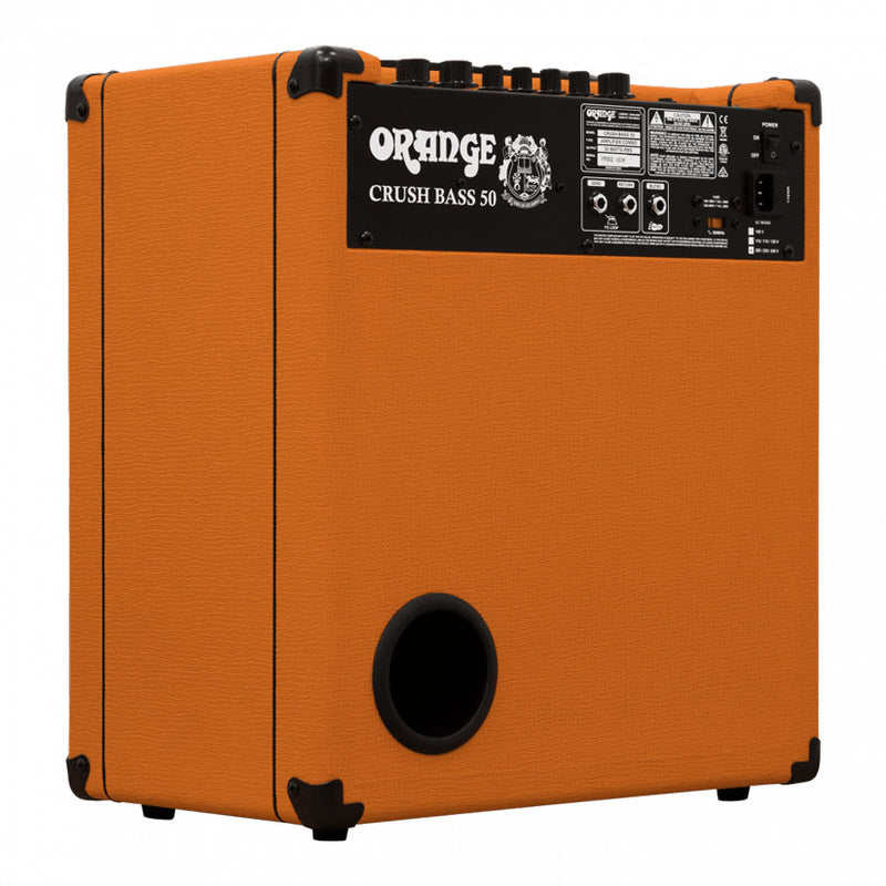 Orange Crush Bass 50 Bass Combo