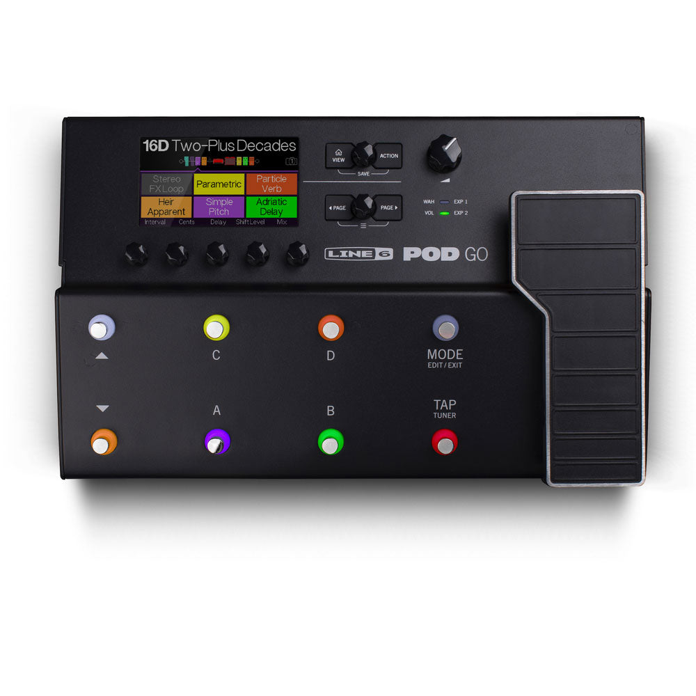 Line 6 Pod Go Multi Effect Processor