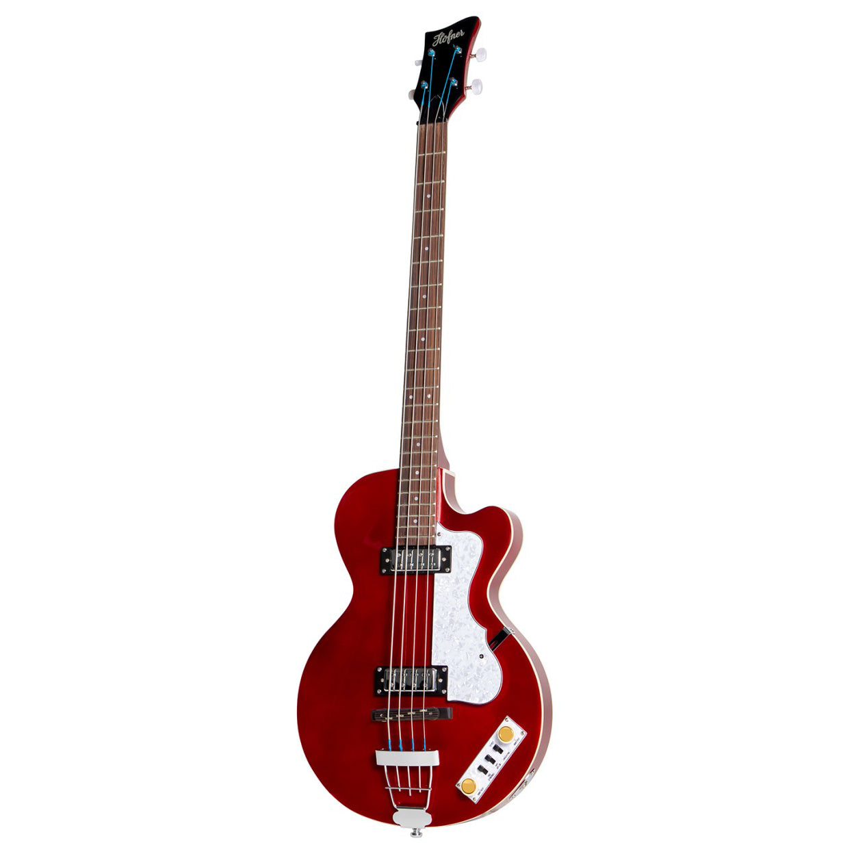 Hofner Ignition Pro Club Bass Metallic Red HOF-HI-CB-PE-RD
