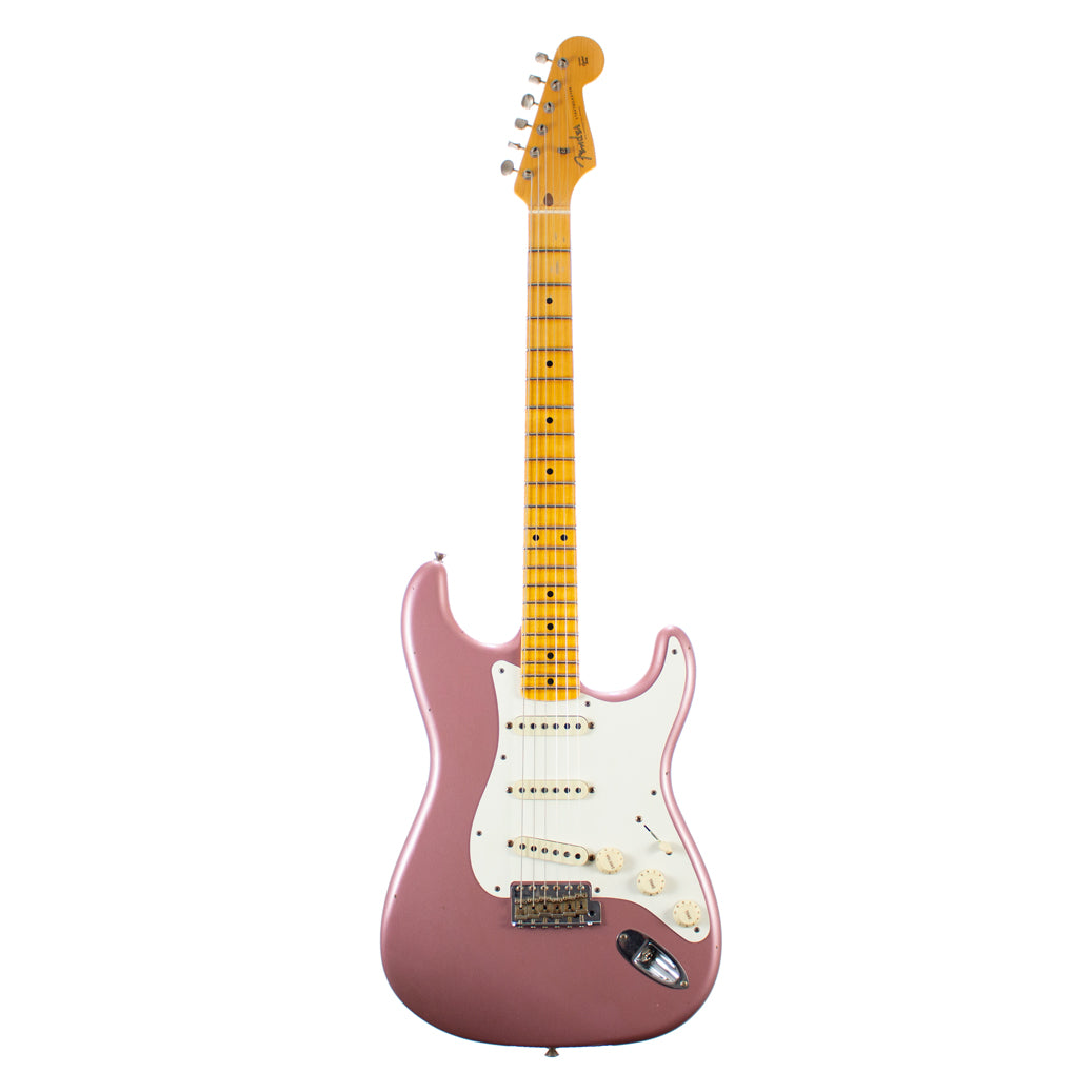 Fender Custom Shop Limited Custom '50s Stratocaster Journeyman Relic Aged Burgundy Mist Metallic