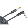 D'Addario American Stage Instrument Cable Right Angle 20 feet