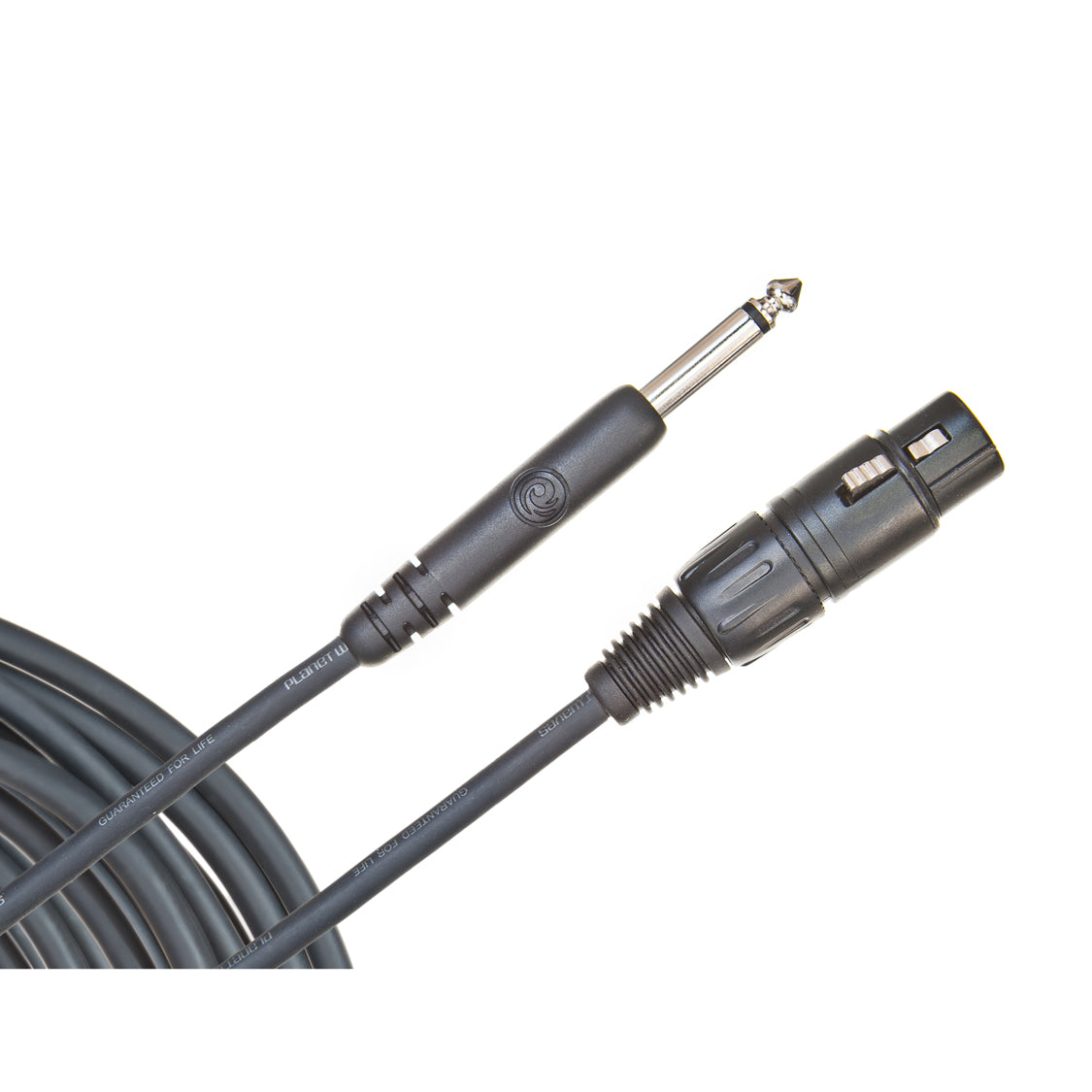 D'Addario Classic Series Unbalanced Microphone Cable XLR-to-1/4-inch 25 feet