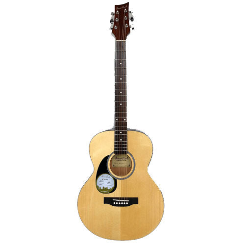 Beaver Creek 101 Series Folk Acoustic Left handed w/Bag BCTF101L
