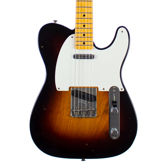 Fender Custom Shop Ltd Time Machine 1957 Telecaster Journeyman Relic Wide Fade 2-Tone Sunburst