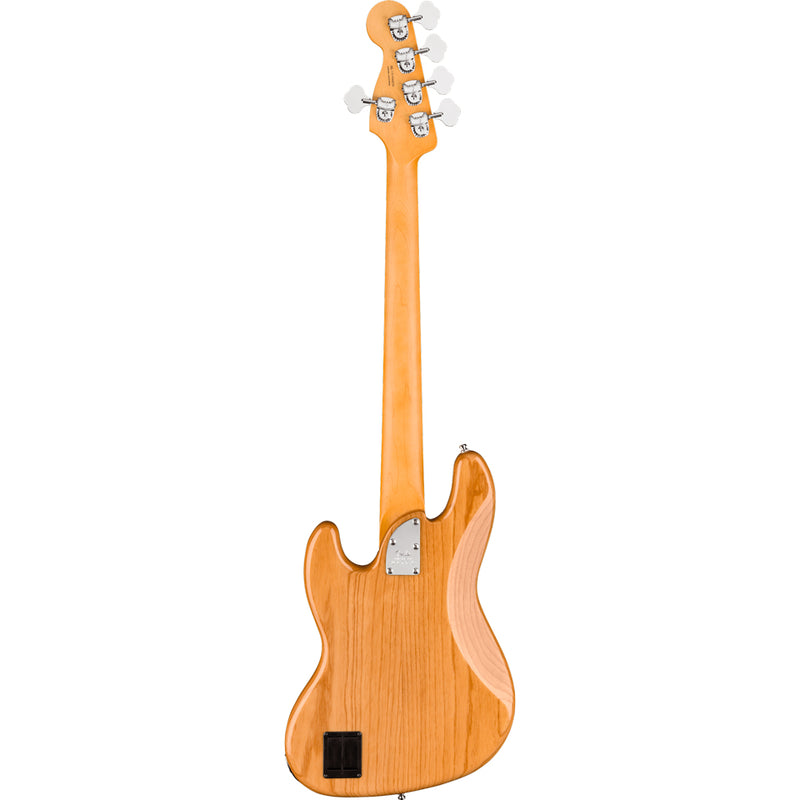 Fender American Ultra Jazz Bass V Maple Fingerboard Aged Natural