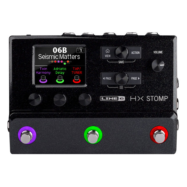 Line 6 HX Stomp Multi Effects Processor