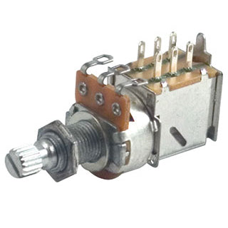 Profile 500K Push Pull Potentiometer PP500KA