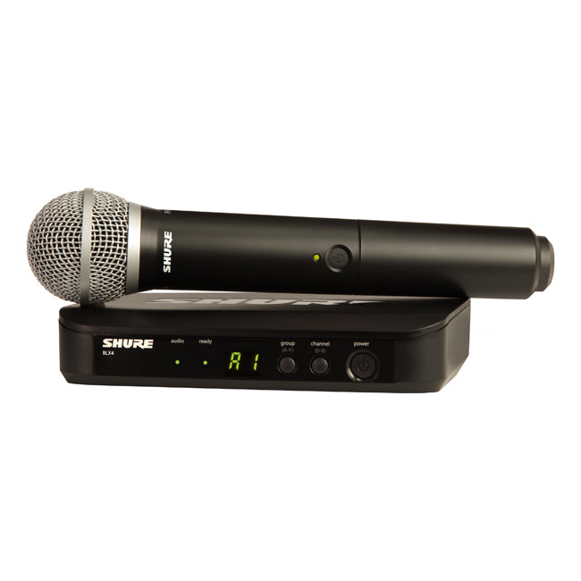 Shure BLX24/PG58 Handheld Mic Wireless System