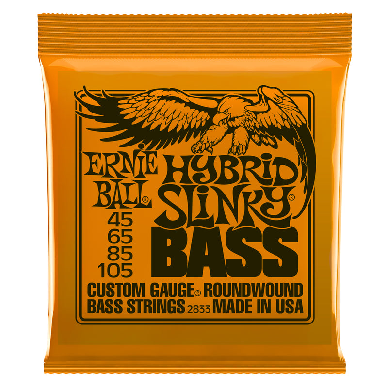 Ernie Ball Hybrid Slinky Nickel Wound Bass Strings