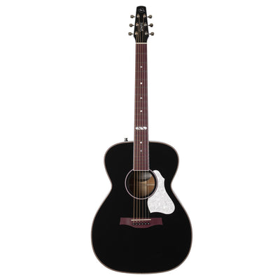 Seagull Artist Limited Tuxedo Black EQ w/TRIC Case