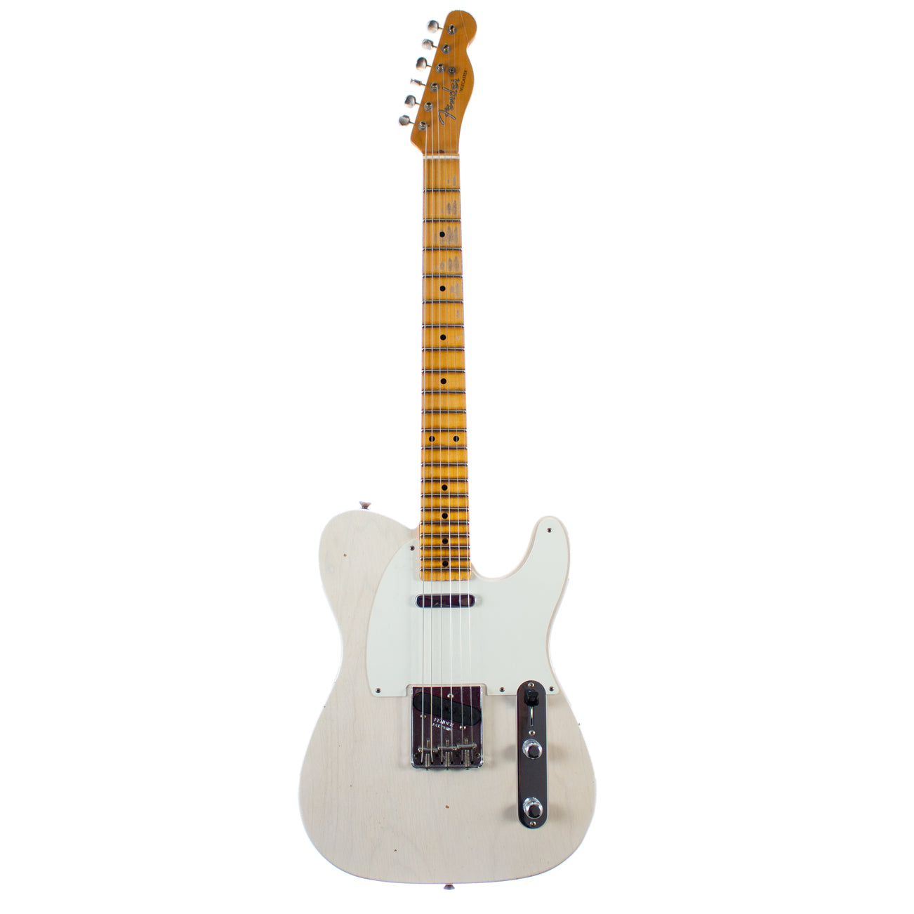 Fender Custom Shop '55 Journeyman Relic Tele Aged White Blonde