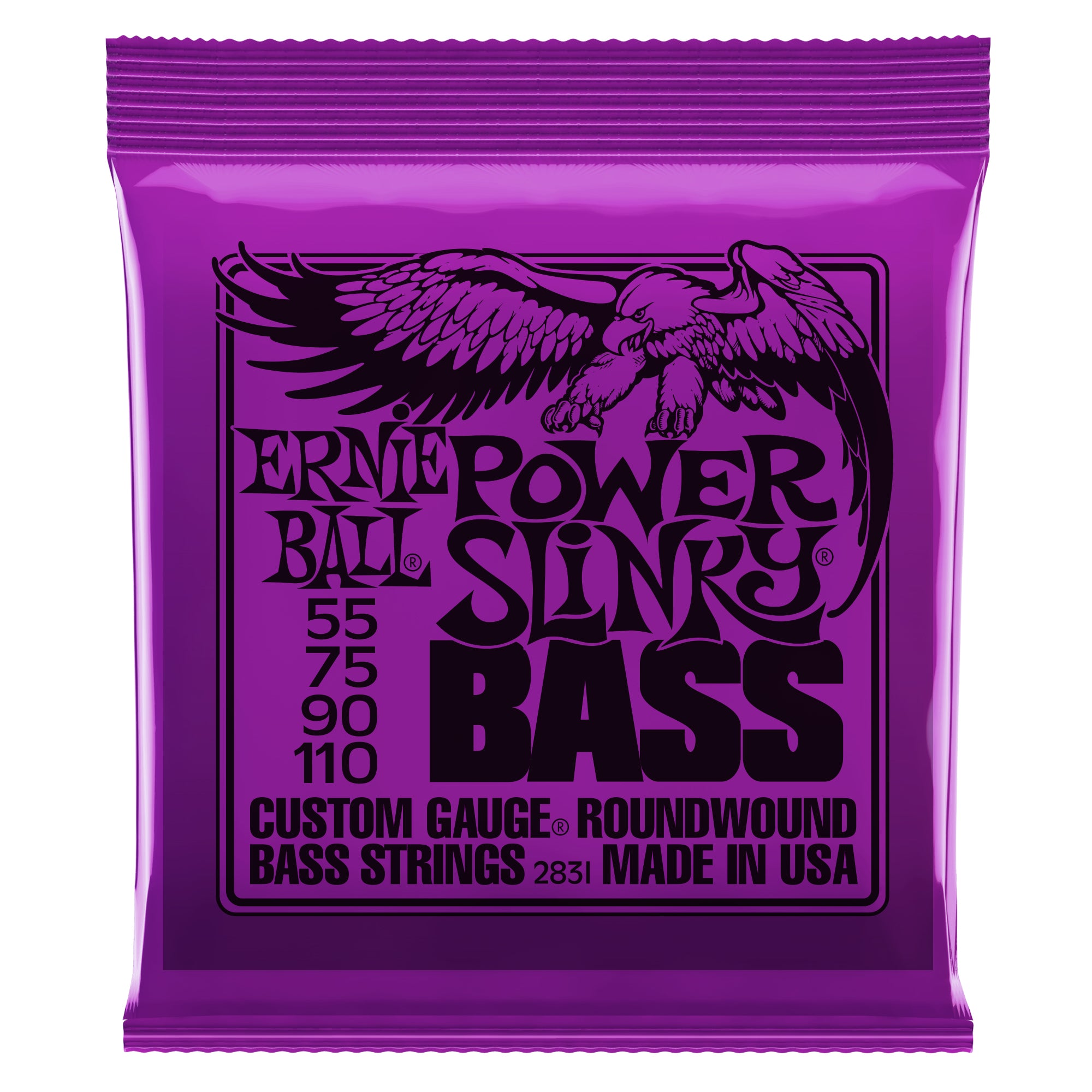 Ernie Ball Power Slinky Nickel Wound Bass Strings