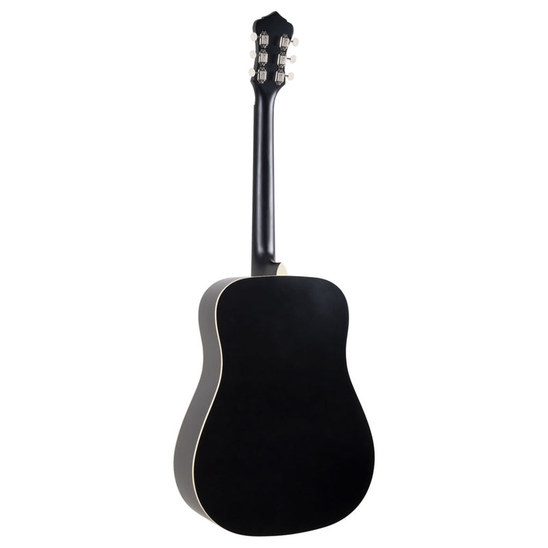 Recording King Dirty 30s Series 7 Dreadnought Matte Black RDS-7-MBK